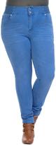 Celeste Light Blue High-Waist Jeans - Plus