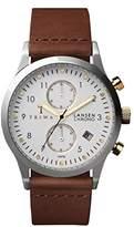 Triwa LCST106 Brown Ivory Lansen Chrono Men's Watch