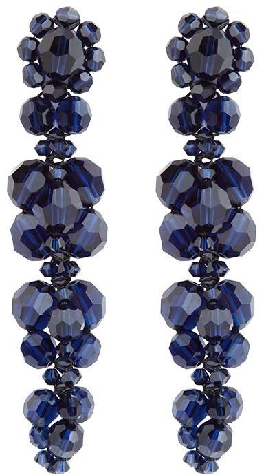 Simone Rocha Floral-Detail Drop Earrings