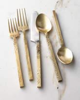 Cambridge Silversmiths 20-Piece Mala Flatware Set, Yellow Metallic