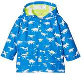 Hatley Color Changing Dinosaur Menagerie Classic Raincoat Boy's Coat