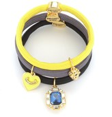 Juicy Couture Set Of 3 Charmy Hair Elastics