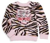 Kenzo Toddler's, Little Girl's & Girl's Tiger Cotton Sweater