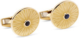 Deakin & Francis - 18-karat Gold Sapphire Cufflinks