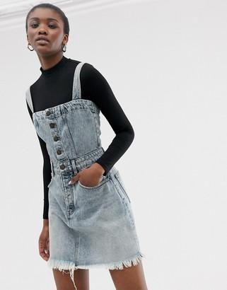 Cheap Monday organic cotton mini overall dress
