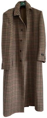 Balenciaga Beige Wool Coats