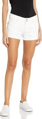 Hudson Women's Croxley Mid Thigh Flap Pocket Jean Short