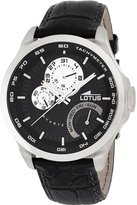 Lotus Men's Quartz Watch with Dial Analogue Display and Leather Strap 15846/4