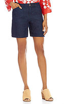Intro Hailey Twill Denim 5-Pocket Shorts