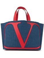 Valentino Garavani small VLOGO beach bag