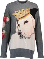 Dolce & Gabbana Intarsia Dog Sweater