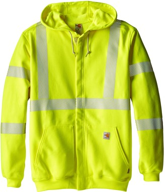 Carhartt Men's Big & Tall Flame Resistant Heavyweight High Visibility Sweatshirt