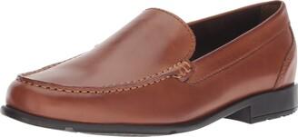 Rockport Men's Classic Lite Venetian Slip-On Loafer- Black-6.5 W