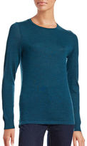 Lord & Taylor Crew Neck Wool Top