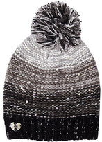 Betsey Johnson Crystal Light Knit Beanie