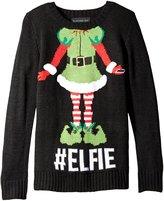 Blizzard Bay Big Girls' Elfie Christmas Sweater