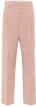 Frankie Shop Pernille high-rise straight pants
