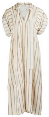 Chloé Silk midi dress