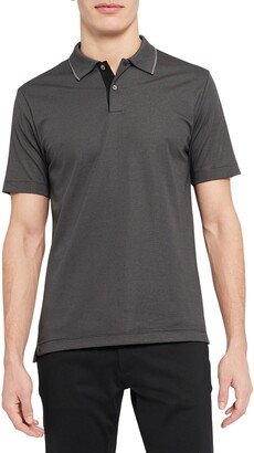 Theory Standard Short Sleeve Knit Polo