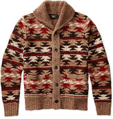 Ralph Lauren RRL Hand-Knit Shawl Cardigan