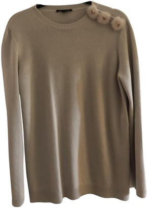 Louis Vuitton Beige Cashmere Knitwear for Women