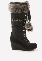 Bebe Logo Rennee Puffy Boots