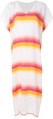 Lemlem Teref striped maxi cover-up
