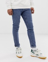 Cheap Monday sonic slim fit jeans in level blue
