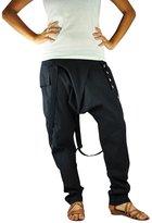 Bonzaai Virblatt Harem Trousers Wide Leg Trousers Harem Pants - Vital