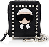Fendi Men's Karlito Chain Wallet-BLACK