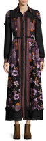 Anna Sui Printed Maxi Dress