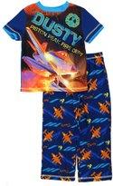 Disney Planes Boys Blue Poly Pajamas (S (6/7))