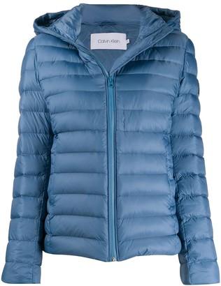 Calvin Klein Hooded Padded Jacket