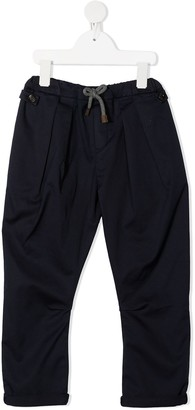 BRUNELLO CUCINELLI KIDS Drawstring Waist Trousers