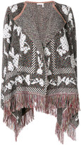 See by Chloe fringed cape