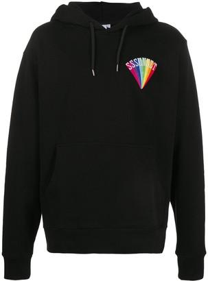 SSS World Corp Long Sleeve Rainbow Logo Hoodie
