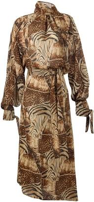 LIRA Paloma Tiger Dress