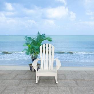 "Safavieh Outdoor Living Brizio Adirondack Rocking Chair - 28.3""x32.7""x37.4"""