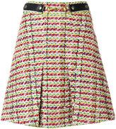 Gucci Horsebit tweed mini skirt - women - Cotton/Acrylic/Polyamide/Wool - 42