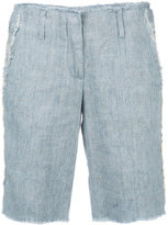 Dondup frayed trim shorts