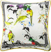 Roberto Cavalli Bird Ramage Silk Bed Cushion
