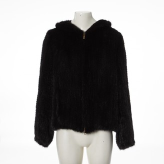 Meteo Black Mink Jacket for Women