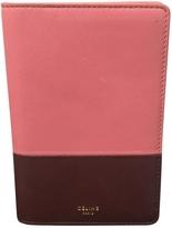 Celine Pink Leather Purse