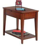 Progressive Birch Veneer Chairside Accent Table