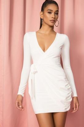 superdown Sierah Jersey Wrap Dress