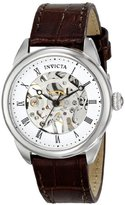 Invicta Women's 17196 Specialty Analog Display Mechanical Hand Wind Brown Watch