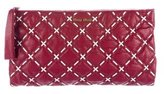 Miu Miu Quilted Leather Pouch