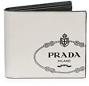 Prada Men's Saffiano Leather Billfold Wallet