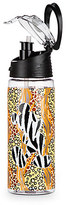 Disney Mickey Mouse Animal Print Water Bottle with Straw