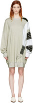 J.W.Anderson Ssense Exclusive Grey Kelly Beeman Edition Oversized Graphic Sweatshirt
